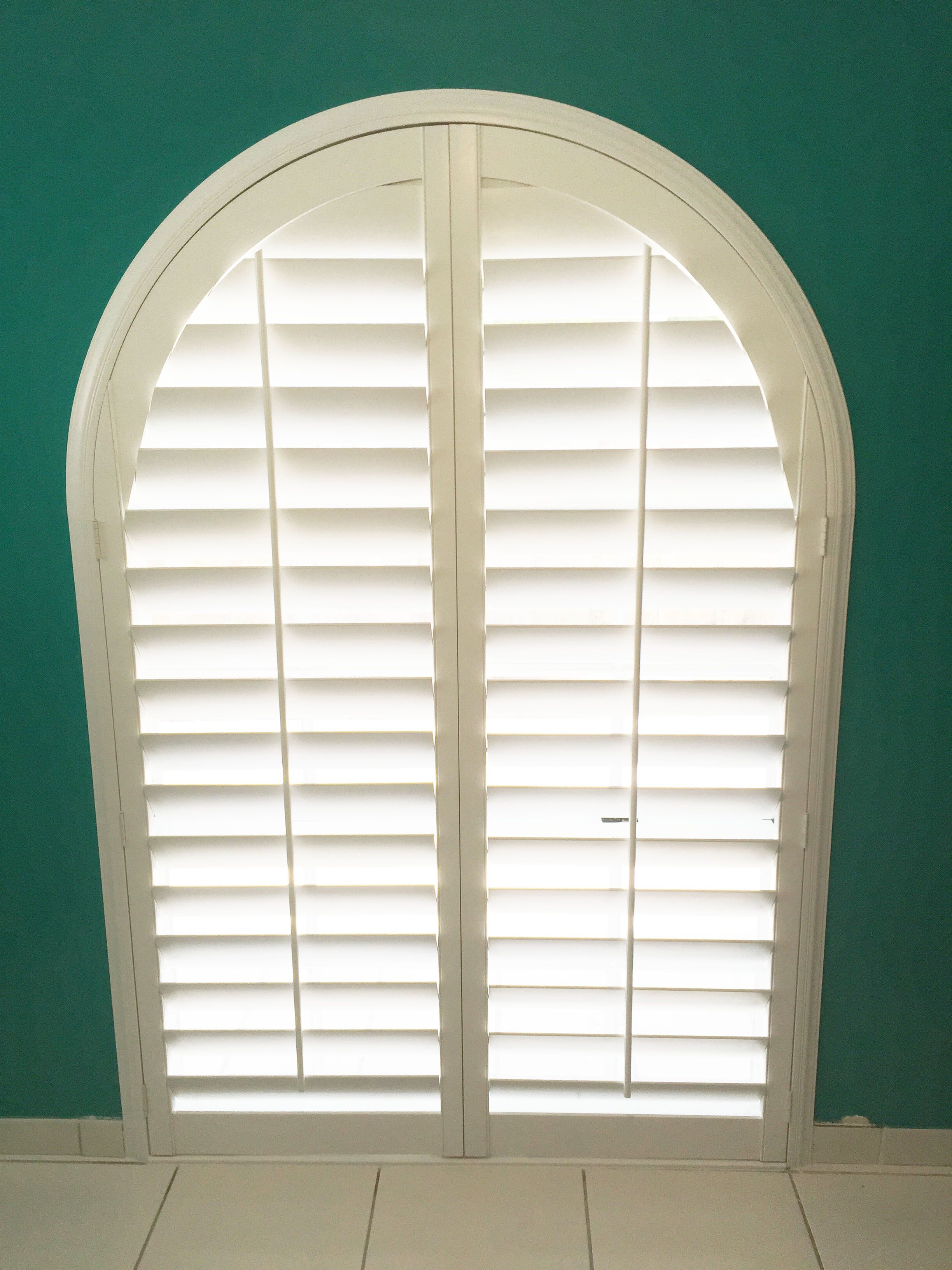 Arched Plantation Shutters By The Louver Shop So Many