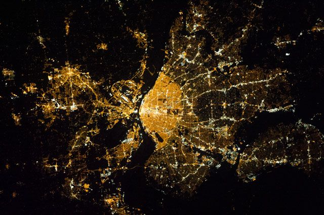 St. Louis, Missouri from the International Space Station