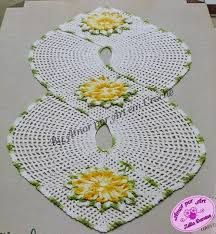 Resultado de imagem para flores de croche com pap