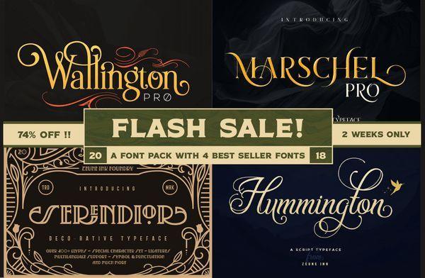 Download Exclusive Font Pack | Font packs, Lettering design, Great ...