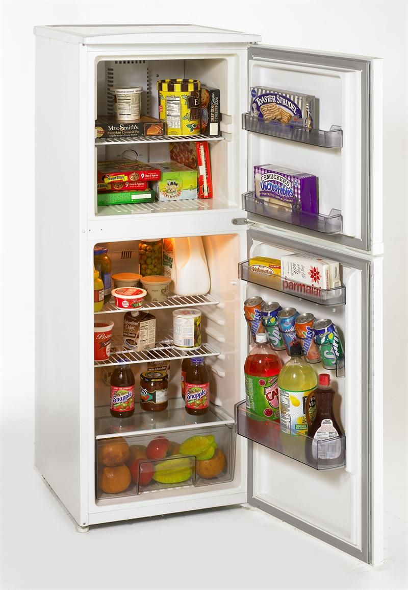 FF760W - 7.5 CF Two Door Apartment Size Refrigerator, White ...