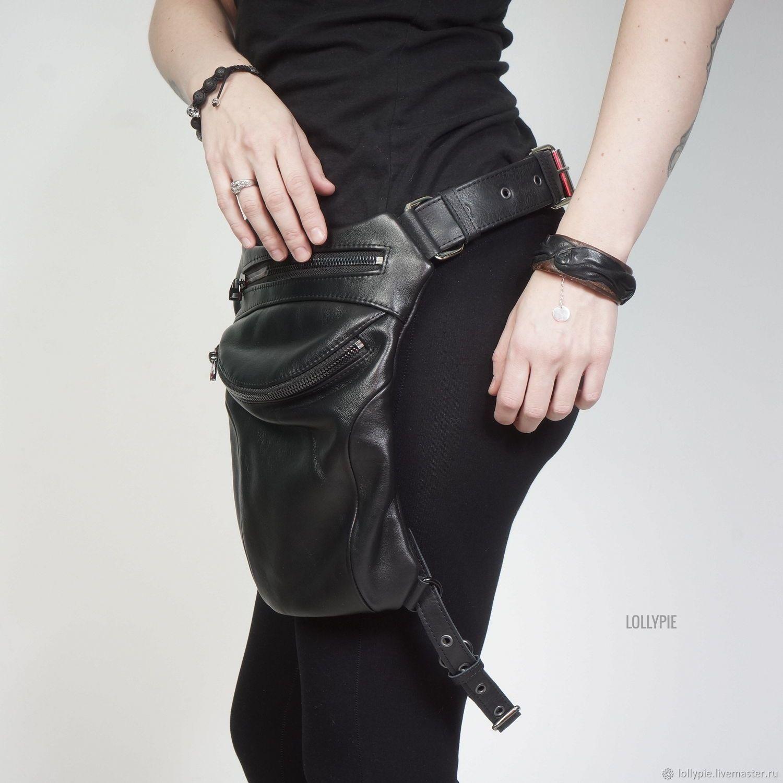9f0f66db70505e3 Женские сумки ручной работы. Сумка кожаная на бедро. Модистка Кэт -  Lollypie. Ярмарка