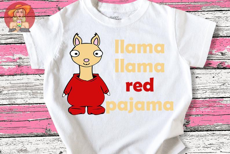 llama llama red pajama t shirt