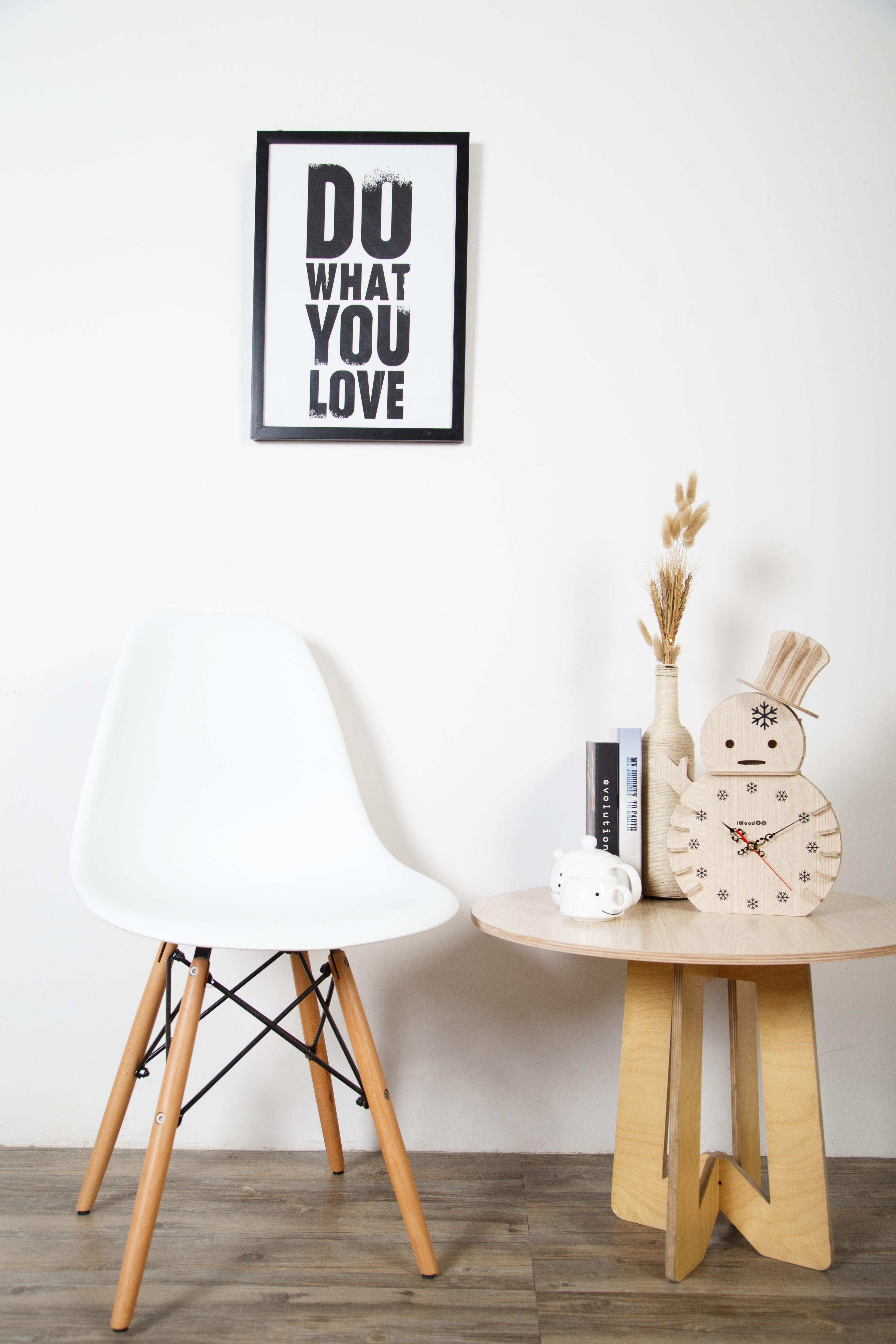 Living Room Craft Rustic Snowman Wooden Clock Plywood Craft Clock Living Room
