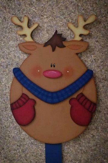 Formas de hacer adornos de navidad en foami para puertas