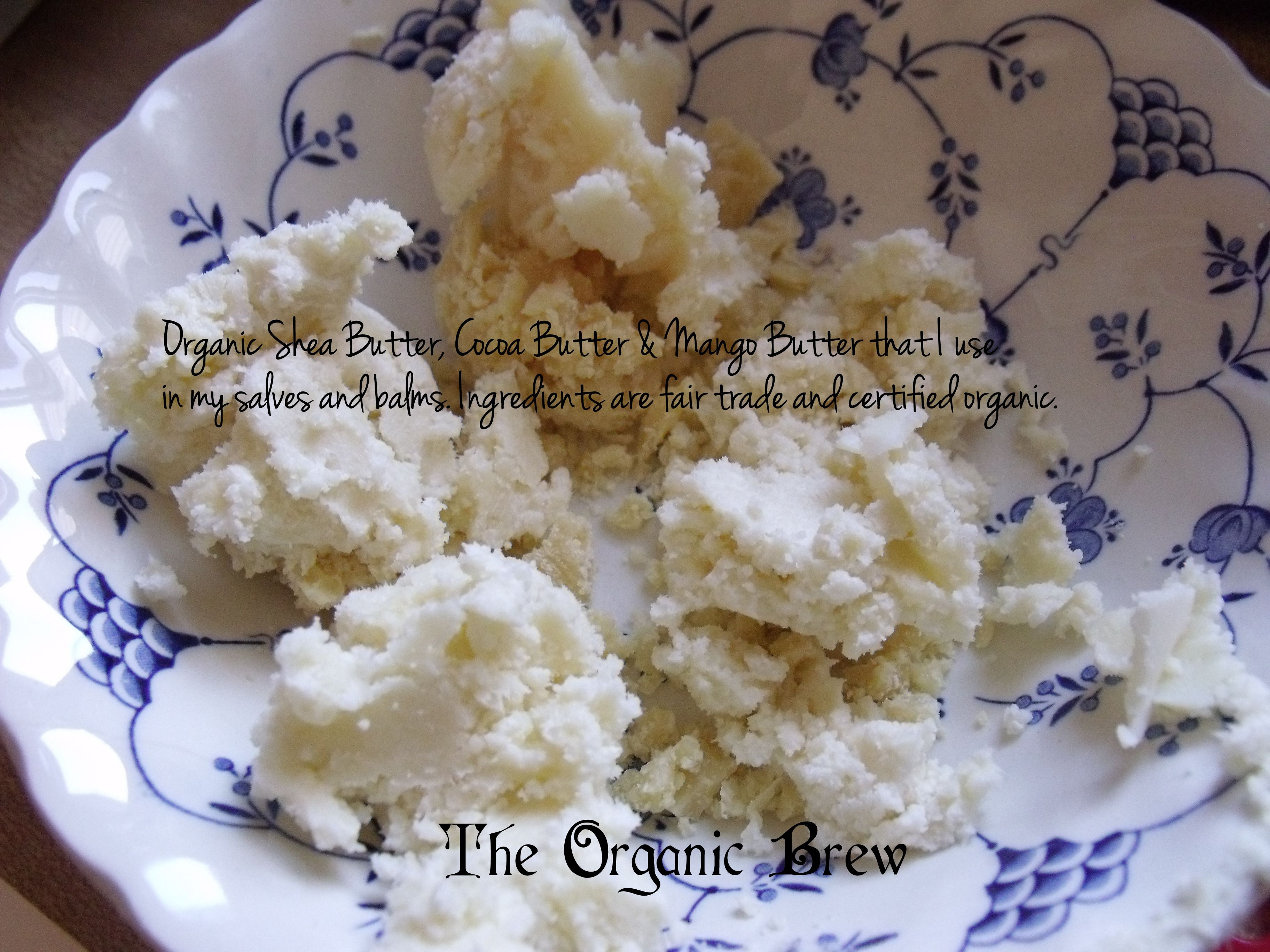 The organic base for all of The Organic Brew's salves and