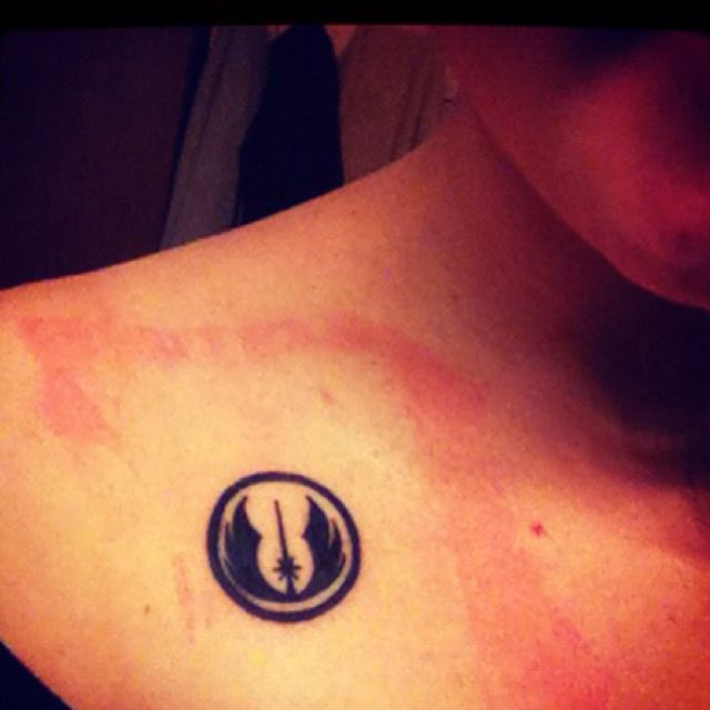 Symbol Of The Jedi Order Nerd Status Tattoo Tattoos
