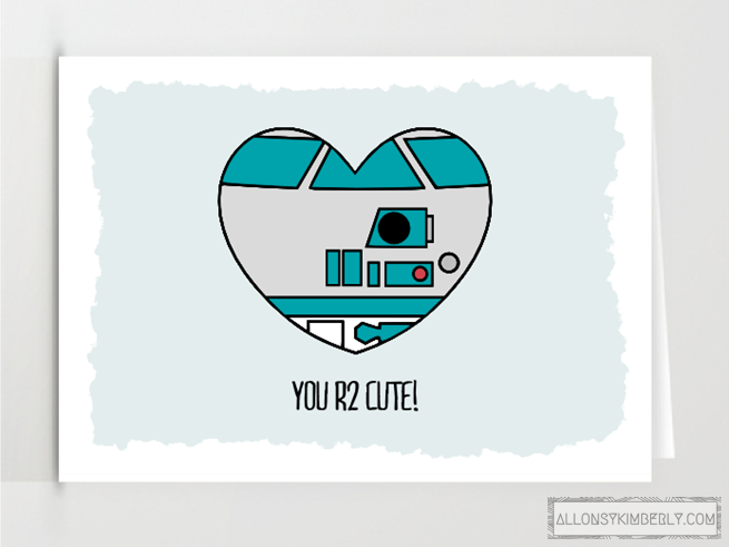 DIY Star Wars Valentines Ideas – Star Wars Valentines Day Cards