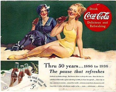 From Mccall S Magazine Retro Coca Cola Then And Coke Now
