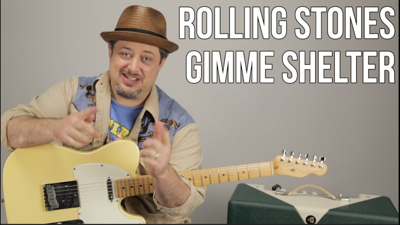 The Rolling Stones Gimme Shelter How To Play On Guitar Lesson