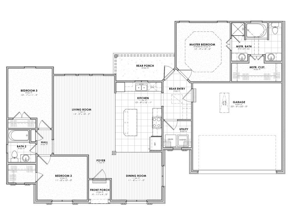 Beauvoir Floor Plan French Collection Lafayette New Homes Best House Plans House Plans Floor Plans