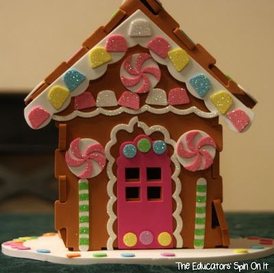 Make Your Own Life Size Gingerbread House For Kids Gingerbread