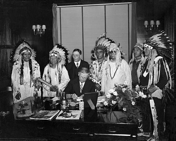 5 Dollar Indians How The Flatheads Changed From Black To White 1935 Harold Ickes Secretary Of Interior Signs Flathead Indian Consution