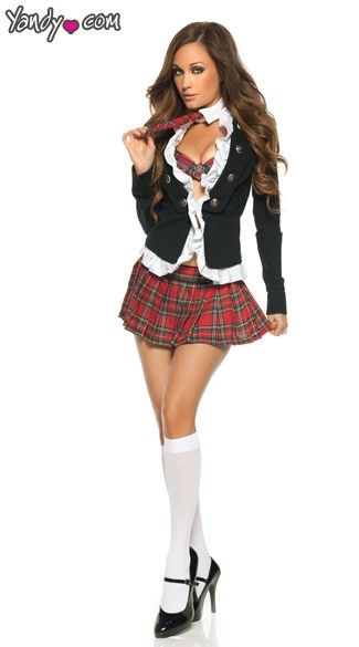 9f9ba072b Adult Naughty School Girl Costume in 2019 | Costumes | Sexy school ...