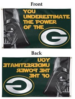 Green Bay Packers 3x5 Star Wars Flag
