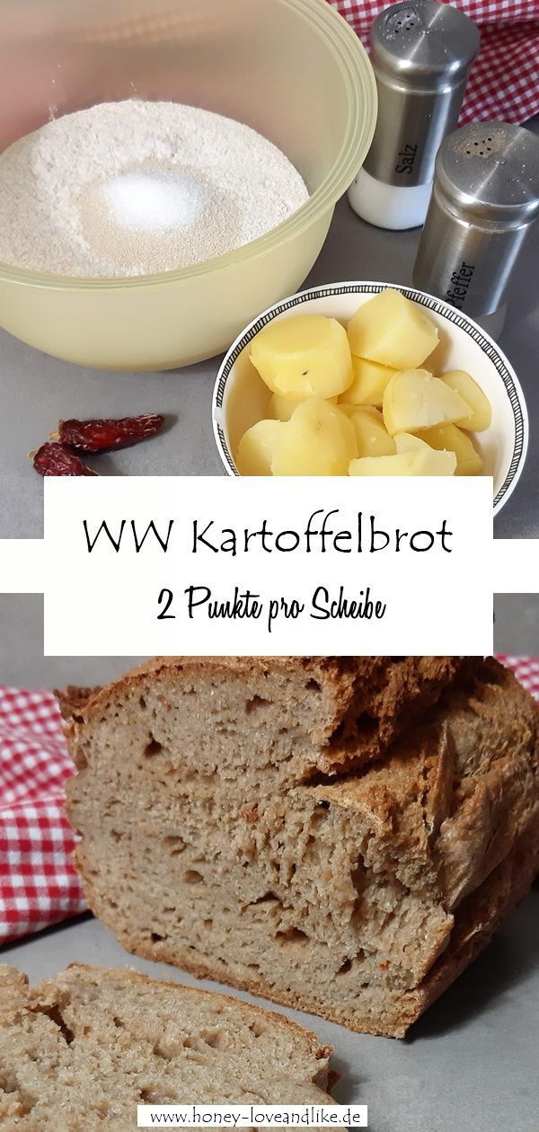 Das beste Brot ever! Weight Watchers Kartoffelbrot