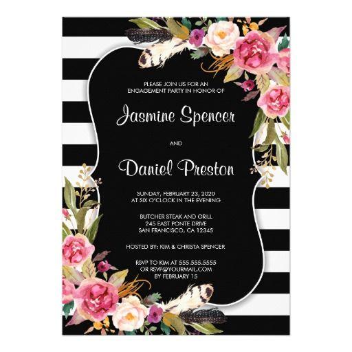 Create Your Own Invitation Zazzle Com Striped Wedding