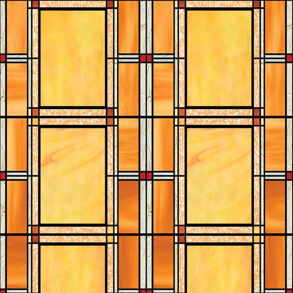 Stained Glass Window Film   Arts & Crafts Window Film ...