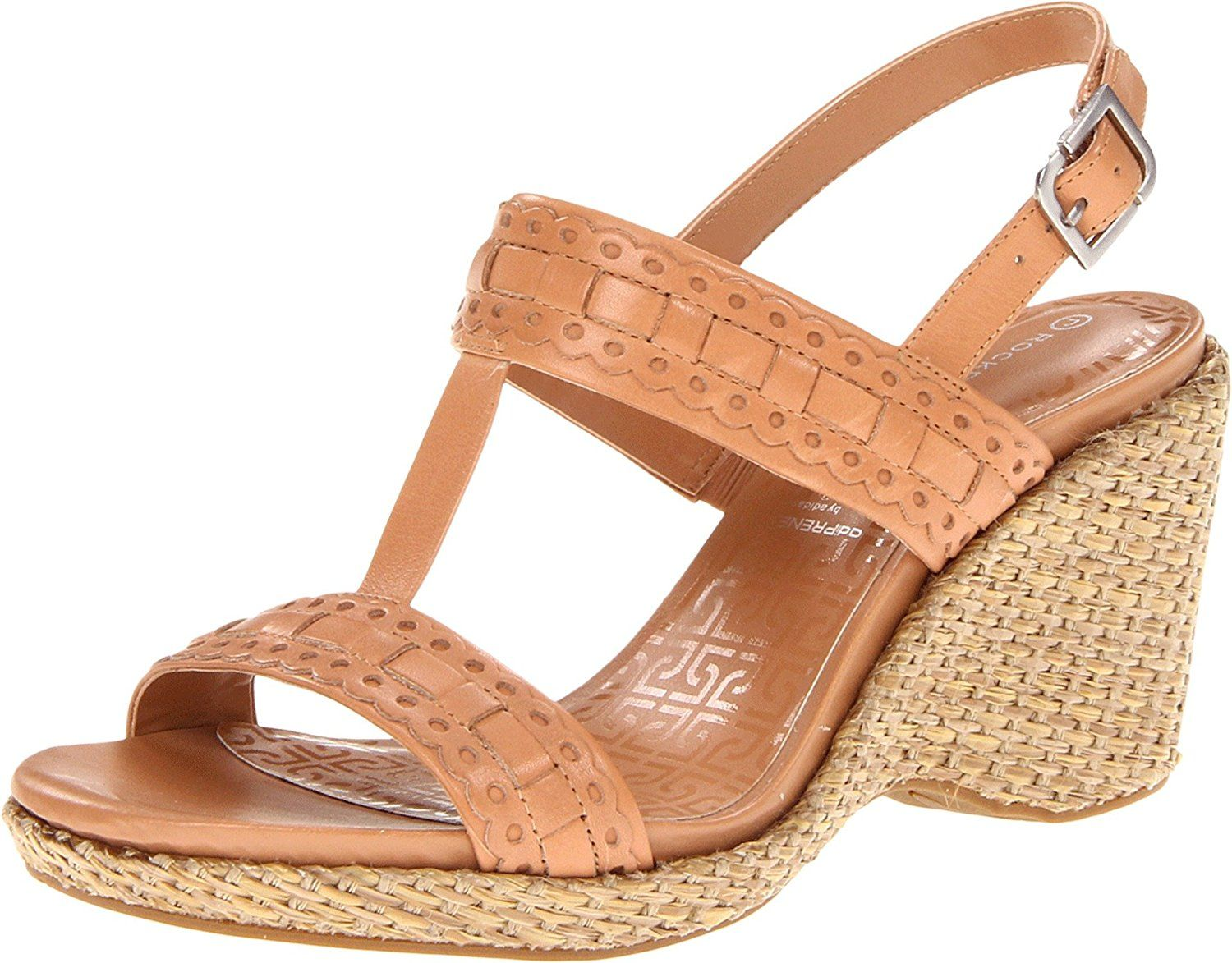 ed72dfef37 Rockport Women's Delyssa H Strap Wedge Sandal ** Special product just for  you. See it now! : Platform sandals