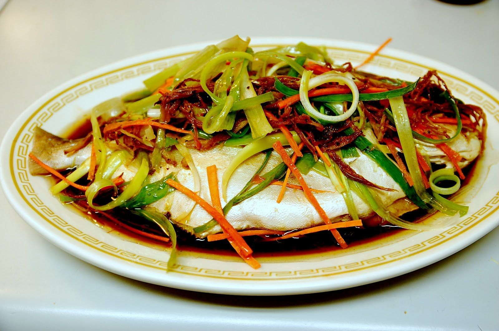 Chinesische Küche Rezepte Healthy Steamed Ginger Whole Fish Authentic Cantonese Cooking