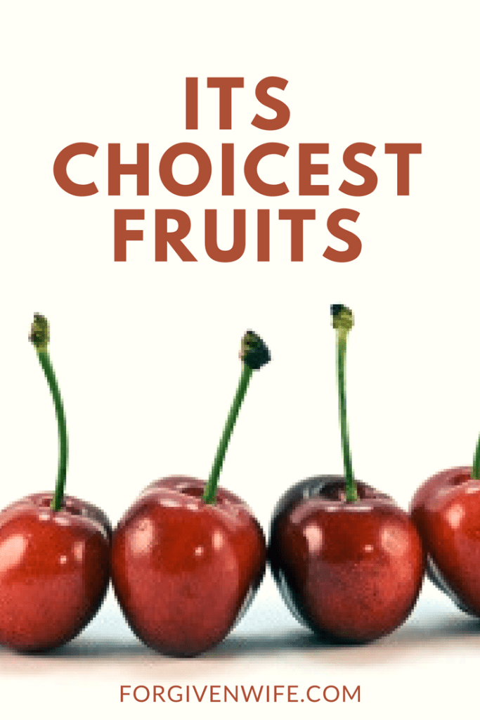 Its Choicest Fruits  Spice Things Up, Fruit, Christian -6480