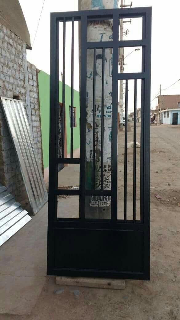 Pin De Jose Luis En Puertas Metálicas Modelos De Puertas Puertas De Aluminio Puertas De Metal