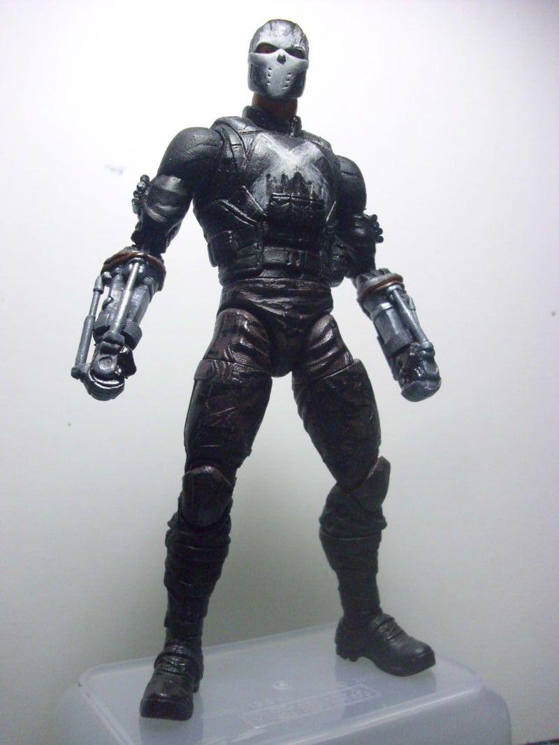 crossbones civil war marvel legends custom action figure