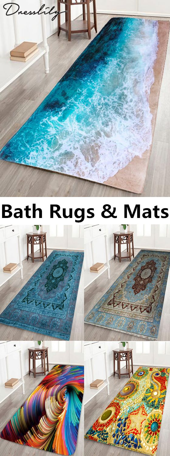 Free shipping worldwide. Bath Rugs & Mats.Constructed to ...