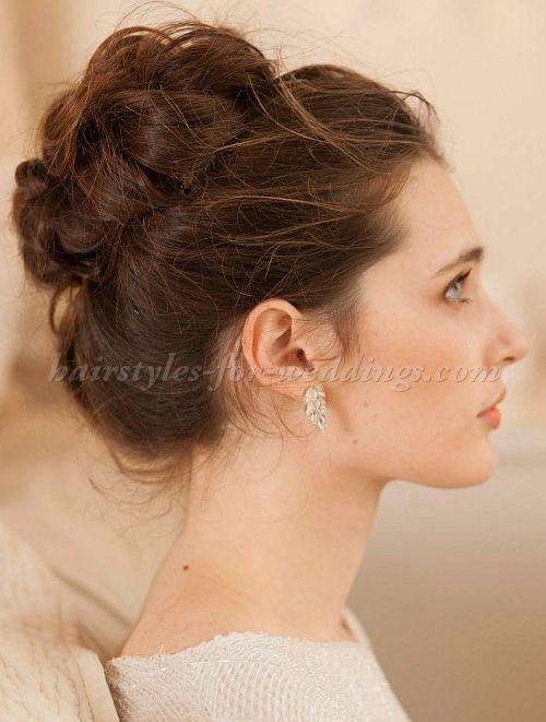 Wedding Hairstyles | Pinterest | High bun, Bun hairstyle and Bridal ...