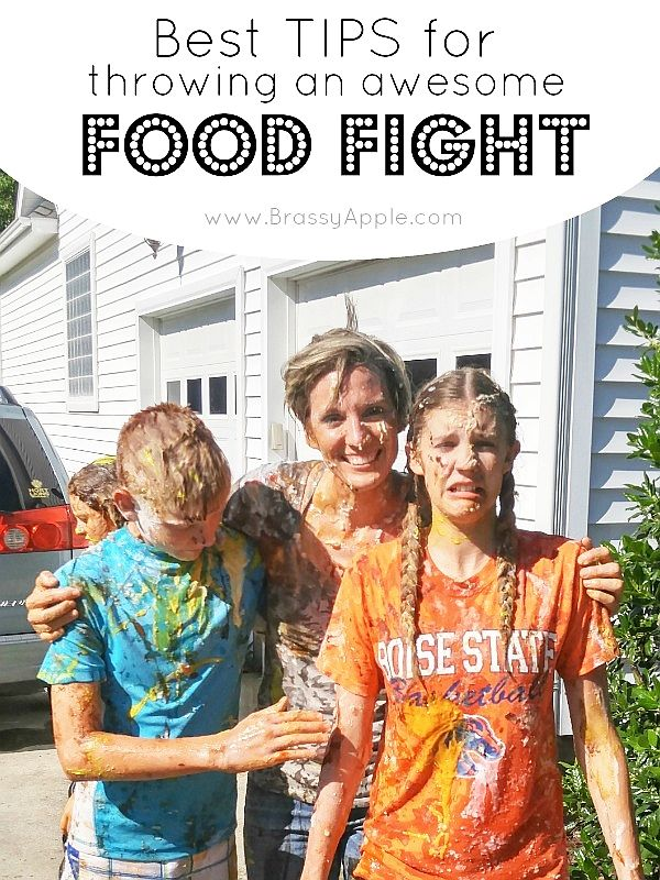 Best Tips For A Food Fight Brassyapple Com Food Fight Food