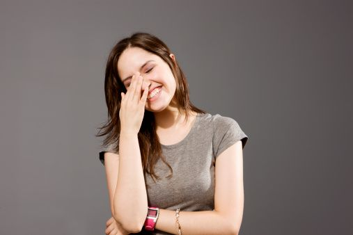 How to Avoid Getting Embarrassed #stepbystep   Make a girl laugh, Women  laughing, Smile girl