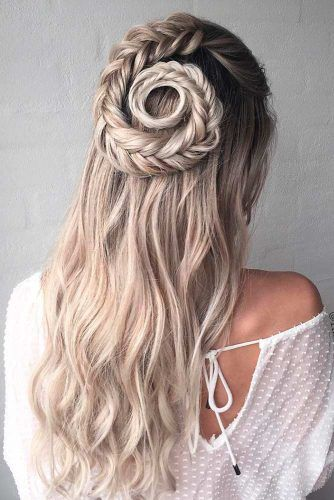 20 Ideas Hair Prom Updo Elegant Curls Hair Styles Dance Hairstyles Medium Length Hair Styles