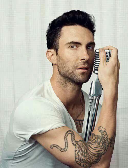 Adam Levine Tiger Tattoo : levine, tiger, tattoo, Tiger, Tattoo, Levine,, Maroon, Younique