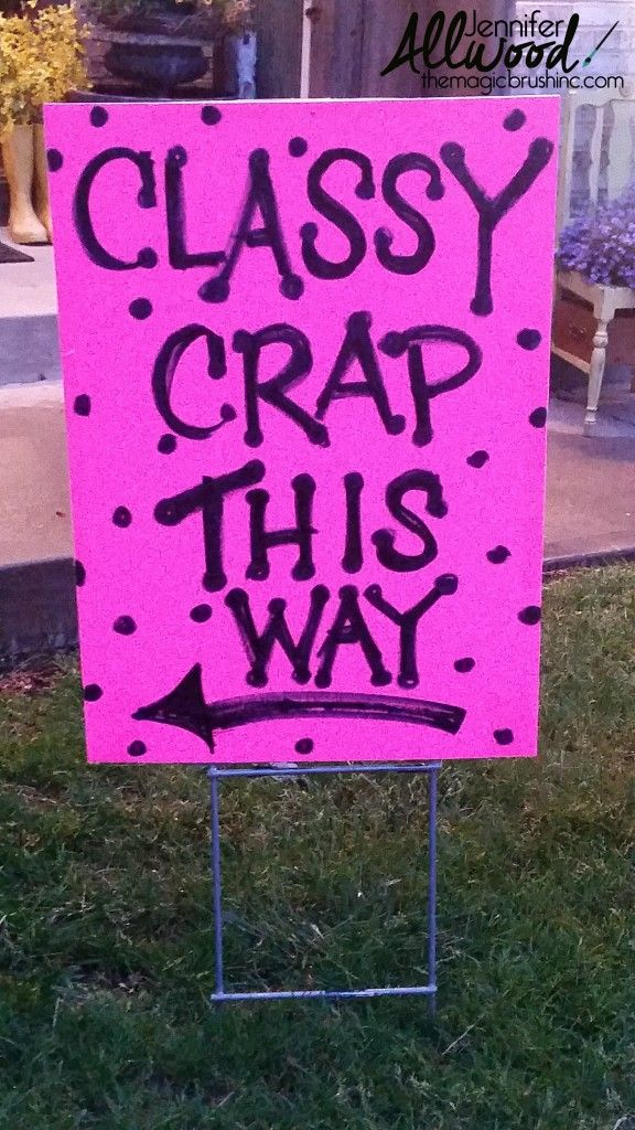 How to advertise for a garage sale with clever signs | Garage sale ...