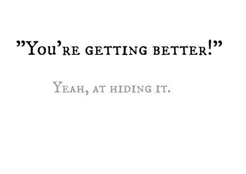 Yeah, at hiding it.... |