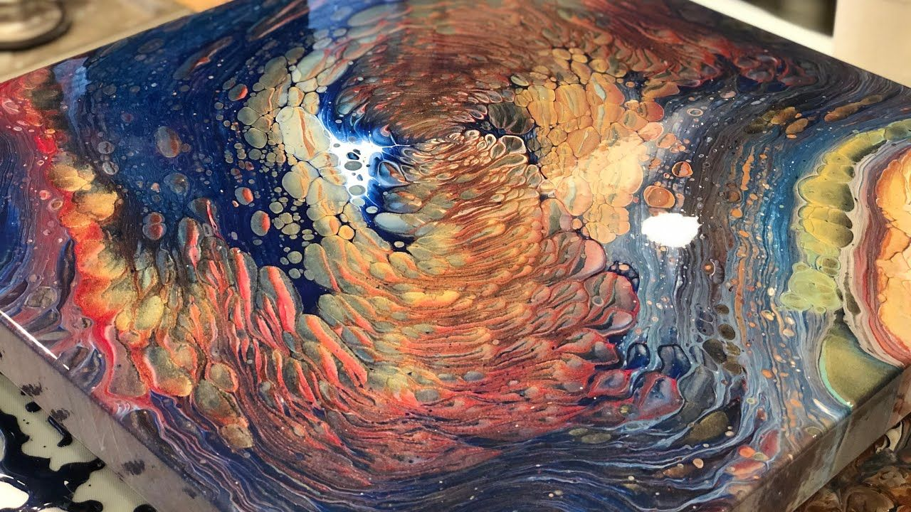 Pin on Acrylic Pouring & Painting