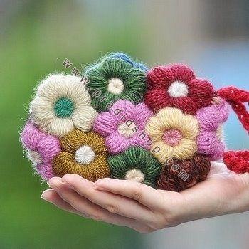How To #Crochet Puffed Star Stitch Clutch Wallet Purse ...