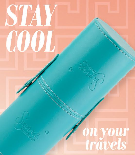 Current blog giveaway! Win a Sigma Beauty aqua-colored travel kit!  Open until 3/28 11:59 CST. http://sigmabeautyblog.blogspot.com/2012/03/gorgeous-giveaway.html