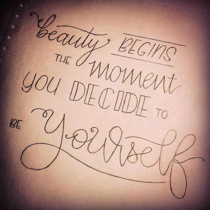 Inspiring hand lettered quote lettering inspiration and for How to find inspiration for drawing