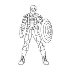 Top 20 Free Printable Superhero Coloring Pages Online