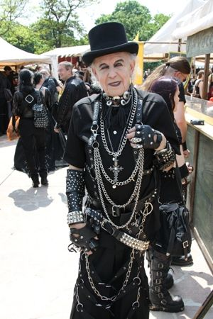 An ELDER Goth Reflects That Is Indeed A Feeling Of Who You Are