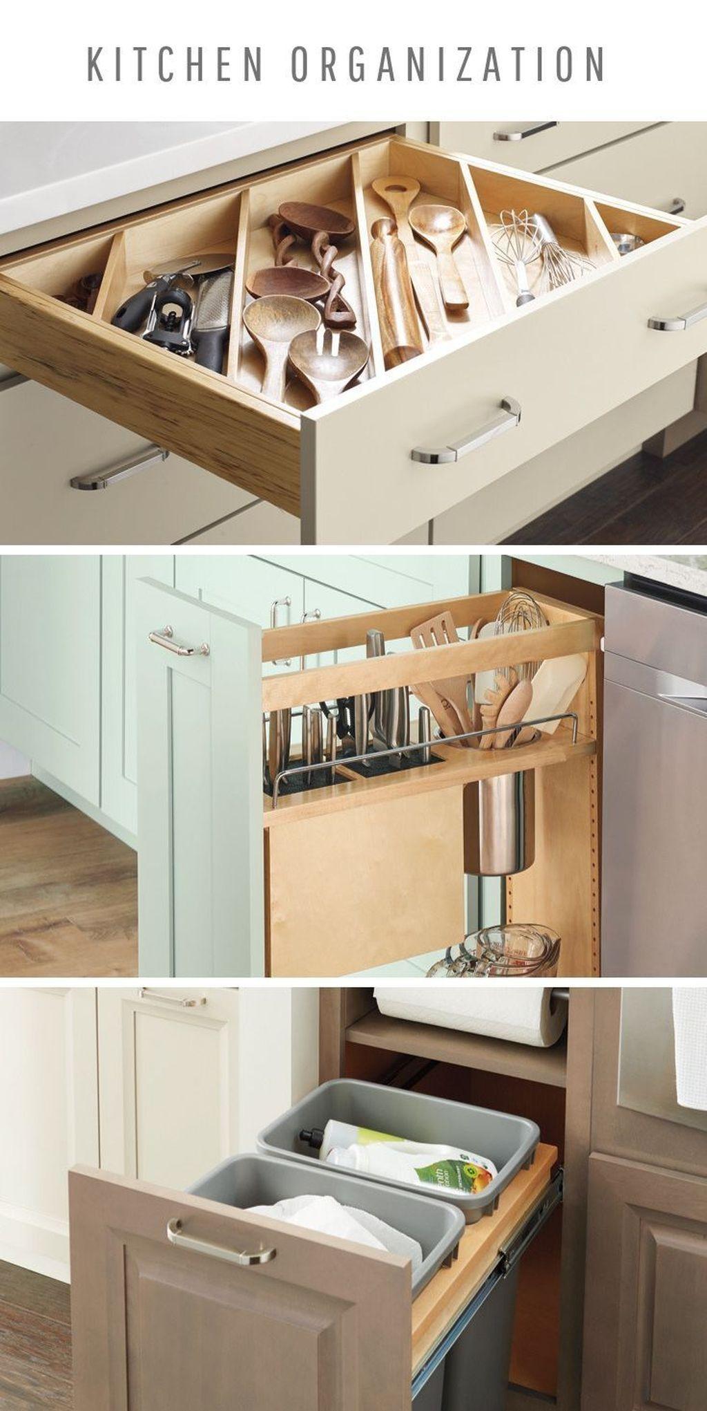 9+ Trendy Kitchen Storage Solutions Ideas For You   Diy kitchen ...