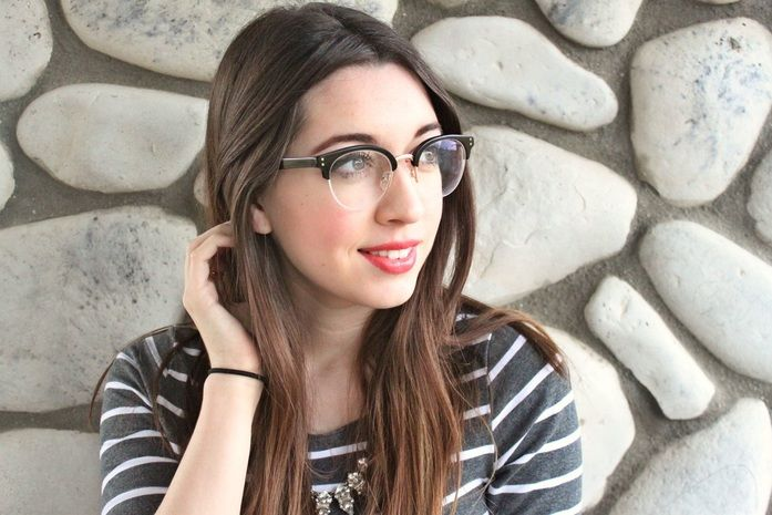 a9cbe1803d Eye buy direct glasses are adorable AND affordable! Read my blog and see  the two glasses I received and my review on them. Having trouble finding  cute ...
