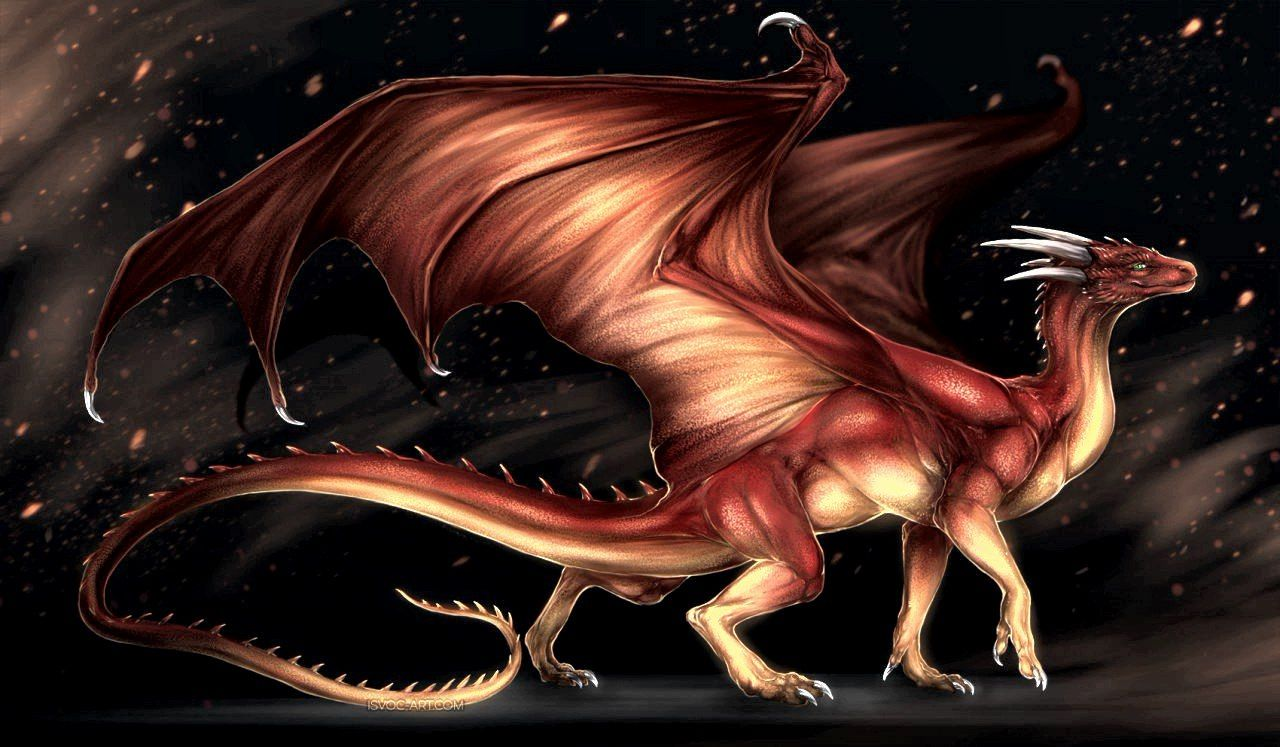 говорить, что картинки фантастическое животное дракон самом деле