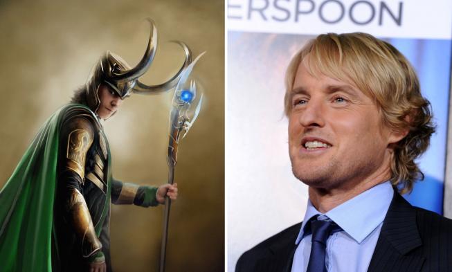 Loki Series Casts Owen Wilson In A Major Role in 2020