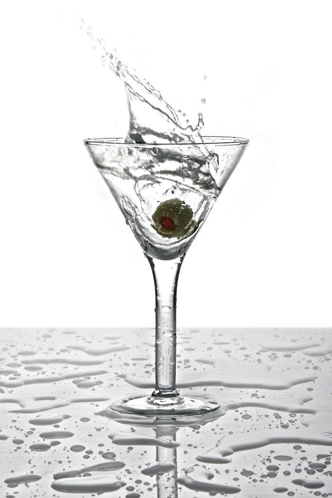 Product Photography / Martini Splash / © Ricardo Seco