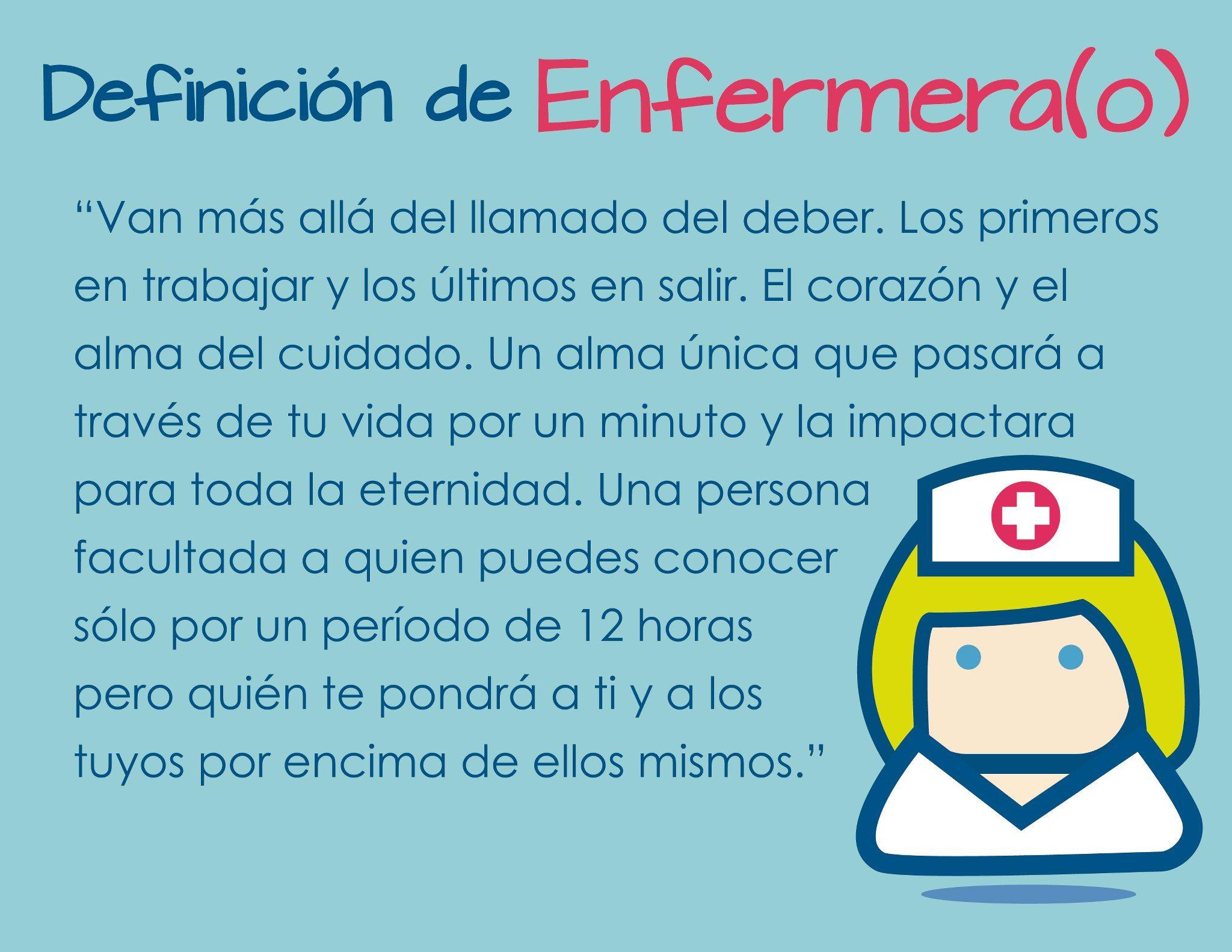 Definición De Enfermerao Enfermería Frases De