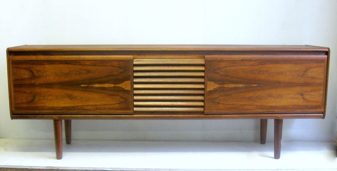 Rosewood Vintage Sideboard By White And Newton Mid Century