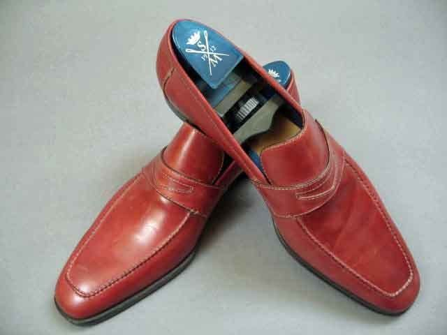 NIB $750 Sutor Mantellassi Chili Red Leather Loafer 11-(Shoe-2244) in Clothing, Shoes & Accessories, Men's Shoes, Dress/Formal   eBay