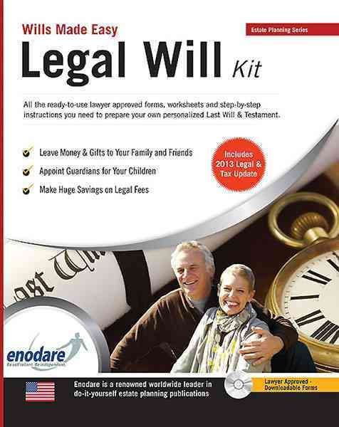 Legal Will kit or drawn up with a lawyer I should get one this